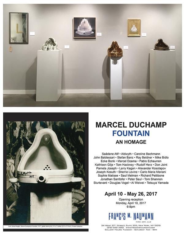 Opening 100th Anniversary Marcel Duchamp Fountain